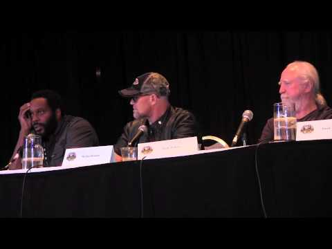 Walking Dead-Chad Coleman,Michael Rooker,Scott Wilson part 2