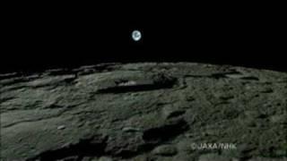 Amanecer Y Anochecer La Tierra En La Luna