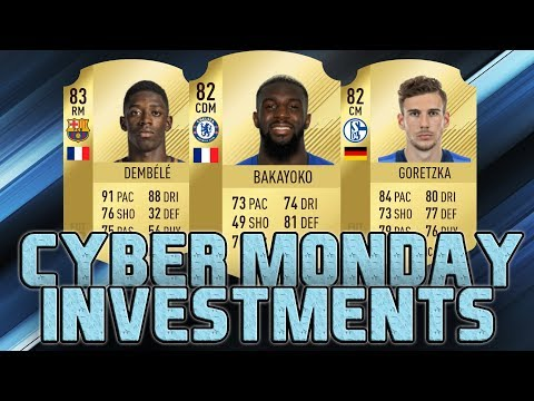 FIFA 18 CYBER MONDAY BEST INVESTMENTS   TRADING TIPS   FIFA 18 ULTIMATE TEAM