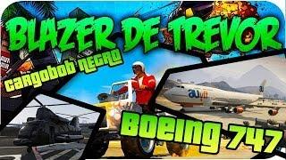 GTA V Online - Conseguir Blazer de Trevor, Cargobob Negro, Boeing 747 etc... Online!