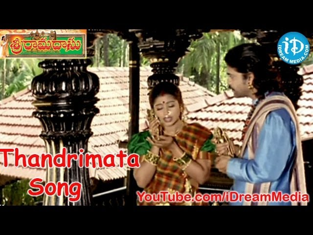 Sri Ramadasu Movie Songs - Thandrimata Song - Nagarjuna - Sneha - MM Keeravani