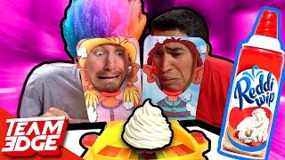 Pie Face Showdown Challenge!!
