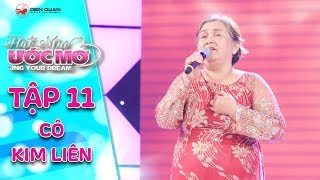Hát mãi ước mơ | Tập 11: Cẩm Ly bật khóc chạy lên ôm người mẹ 60 tuổi hát vì con gái bị ung thư