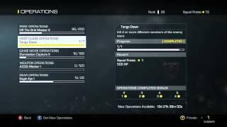 Call Of Duty: Ghosts Gear Unlocking