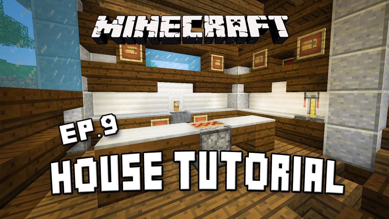 Minecraft Tutorial How To Make A Good Looking House Episode 1 | Apps ...