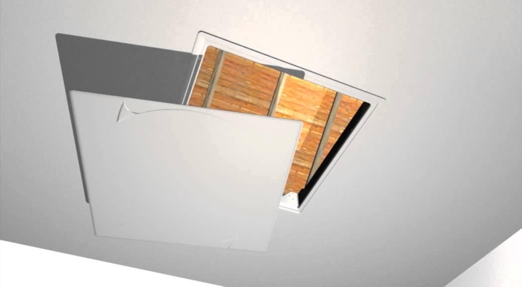 trappes de plafond et de visite rt2012 nicoll youtube. Black Bedroom Furniture Sets. Home Design Ideas