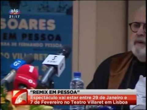 Jô Soares na Casa Fernando Pessoa a propósito do espectáculo