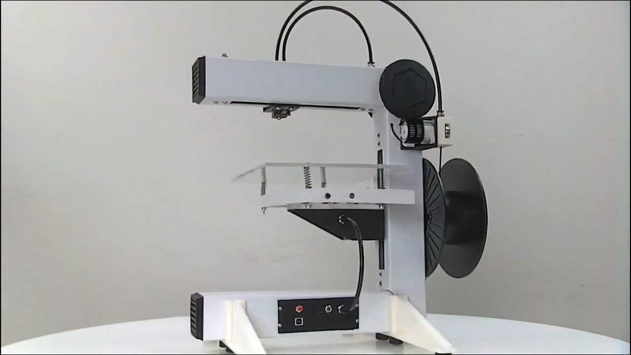 Eventorbot Open Source Diy 3d Printer Free Plans Youtube