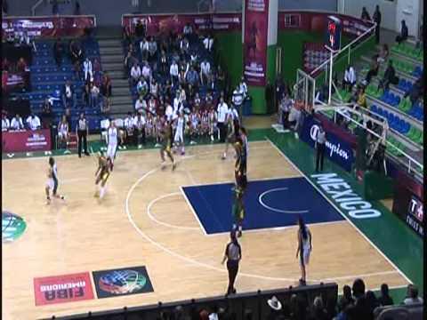 Basketball Pre - Mundial 2013 Mexico vs Brasil COMPLETO
