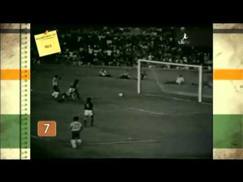 Bóng đá-10 bàn thắng đẹp nhất của Pele