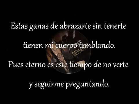 Marco Antonio Solis -Tres Semanas (letra...2013)