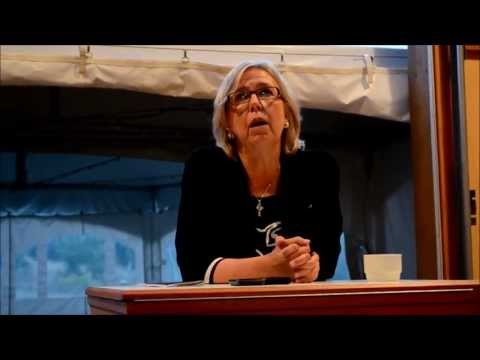 Elizabeth May - Mayne Island Town Hall - September 2013 - Monitoring Radioactive Fallout