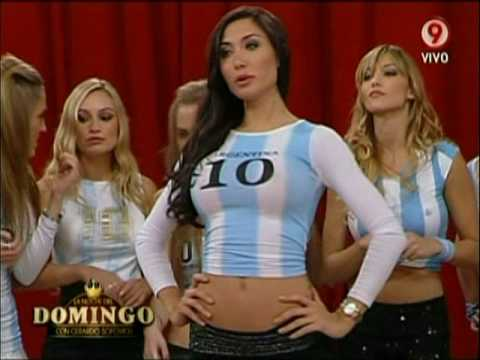 Hot Girls From Argentina Playing Bowling