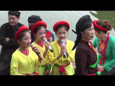 Hát Quan họ trên thuyền 2017 - CLB Quan họ Bồ sơn Võ cường Bắc ninh