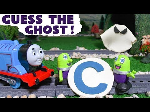 Funny Funlings guess the ghost Thomas The Tank Engine Play Doh fun letter game for children TT4U