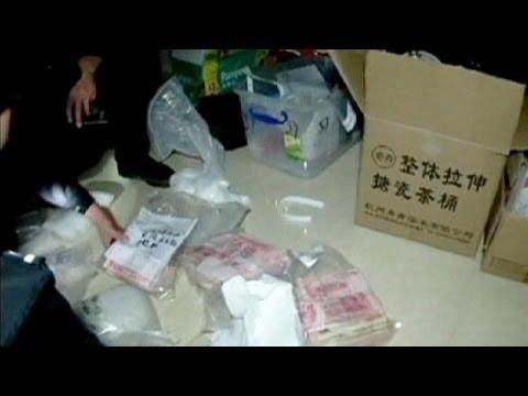 Maxisequestro di metanfetamina nel sud della Cina