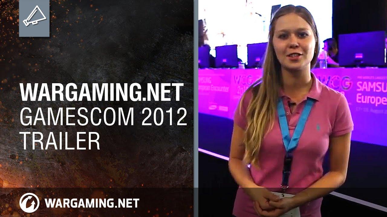Wargaming.net. Gamescom 2012. Трейлер
