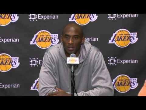 Kobe Bryant Postgame Comments | Phoenix Suns vs LA Lakers | December 10, 2013 | NBA 2013-14 Season