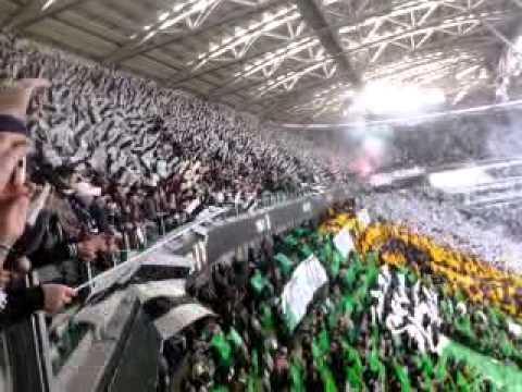 JUVENTUS - FIORENTINA 1-0 CURVA SUD