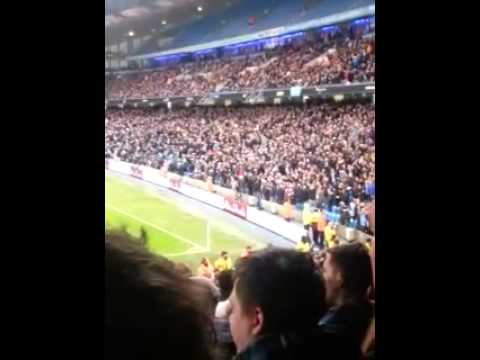 Blackburn fans away at man city 15/1/14