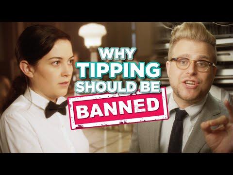 Tipping - 영어 원어민들이 자주 쓰는 영어