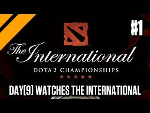 Day[9] Learns Dota - Watching The International Games P1