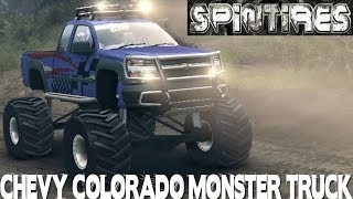 Spin Tires Chevrolet Colorado Monster Truck Vs Chocomap