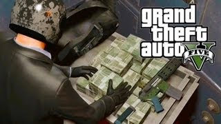 GTA 5 Secrets: $2 Billion Dollars In 2 Minutes, Max Ammo
