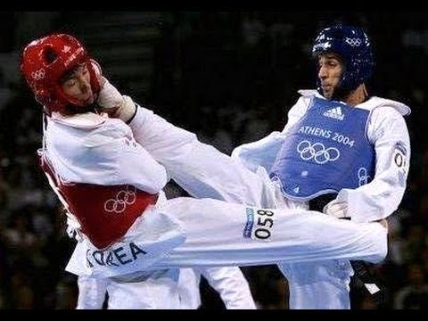 Amazing Taekwondo Highlights- Tamer Abdelmoneim and Tamer Salah Athens 2004 Olympic Games