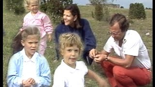 """The Swedish Royal Family""  Kungafamiljen på Alvaret, Öland 1984"