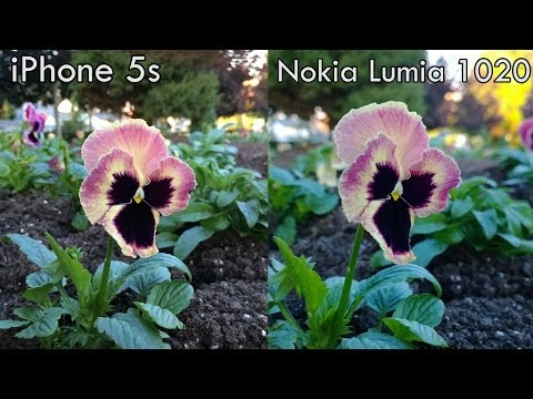 Nokia Lumia 1020 vs. iPhone 5s: Ultimate Camera Comparison