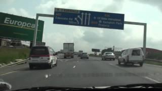 Drive to Joburg Airport (N12, N3, R24)