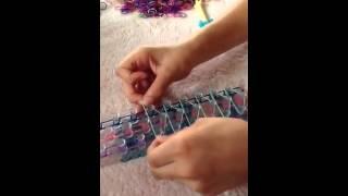 How To Make A Rainbow Loom Triple Bracelet