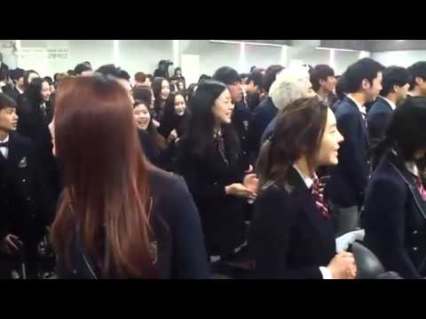 [130207]  Sejun (SPEED)  Areum (T-ara)  Subin (DalShabet) @ Ceremony Graduation, [130207] Sejun (SPEED) Areum (T-ara) Subin (DalShabet) They're singing a song @ Ceremony Graduation Source : Hanlim School 's Blog Re Upload : Speed Thailand...