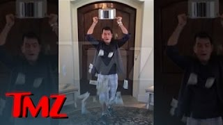 Charlie Sheen — Ice Bucket Challenge with a BIG Twist