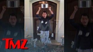 Charlie Sheen — Ice Bucket Challenge with a BIG Twist