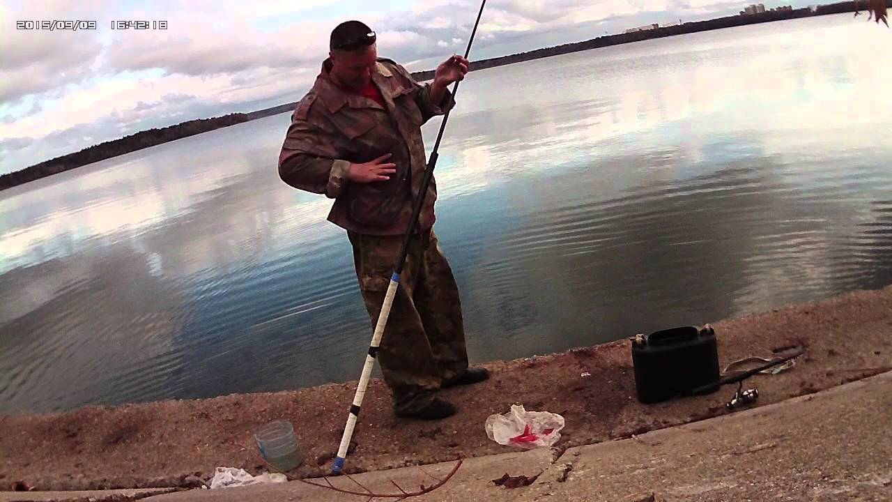 ловля с боковым кивком с берега