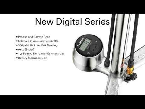 Lezyne Digital Floor Drives - 2014 Precision Redefined