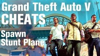 GTA 5 Cheats Spawn Stunt Plane