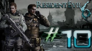 Resident Evil 6 Detonado (Walkthrough) Chris Parte 10 HD