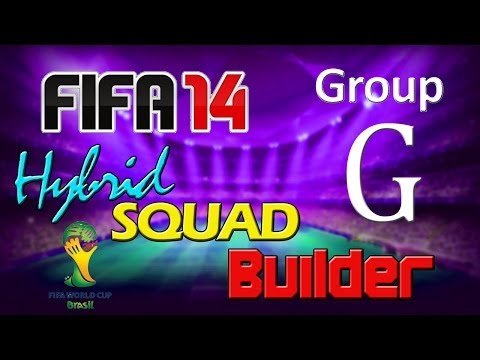 FIFA 14 | World Cup 2014 Hybrid Squad | Group G |  Germany, Portugal, Ghana & USA