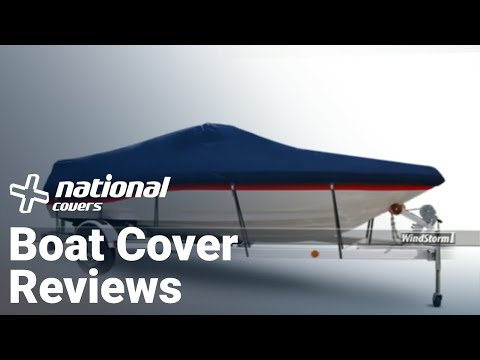 Boat Cover Reviews, WindStorm Boat & Pontoon Covers Manufactured By Ee