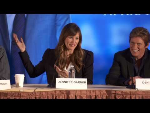 Draft Day: Press Conference Part 7 of 10 - Kevin Costner, Jennifer Garner, Terry Crews