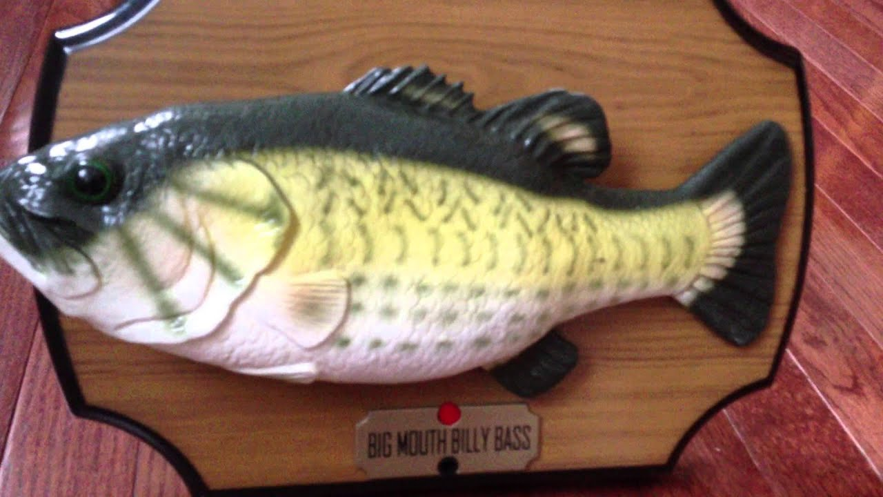 Big mouth billy bass youtube for Big mouth fish