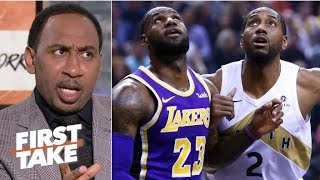 'If you're Kawhi Leonard, you don't want to play with LeBron' – Stephen A.   First Take