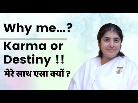 Why me...? Karma or Destiny!- talk by BK Shivani at Pune on 13th Sept 2014