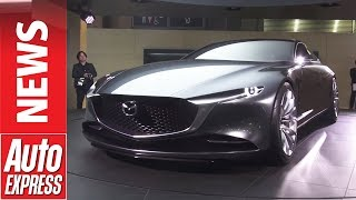 Sleek Mazda Vision Coupe concept wows crowd at Tokyo Motor Show. Auto Express.
