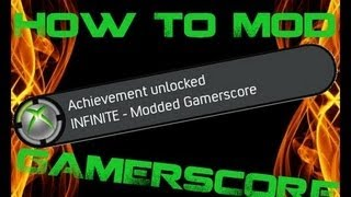 How To Mod Your XBOX 360 Gamerscore/Achievements [USB