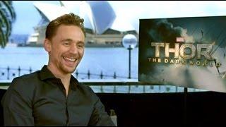 Thor: The Dark World Tom Hiddleston Interview