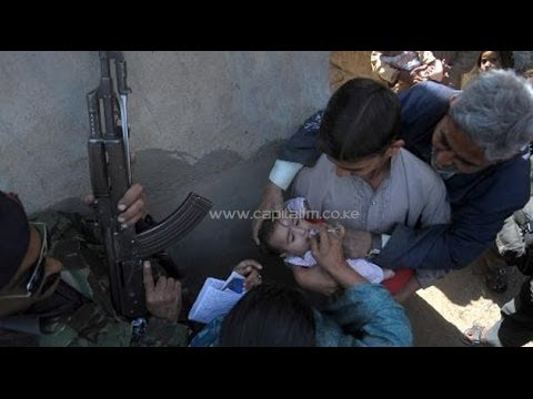 Dunya News-Khyber Agency, Three bomb blasts targeting polio team kill twelve